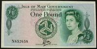 Isle of Man 1 Pound P. 34 a