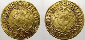 Goldgulden 1440 K Frankfurt, kaiserliche u...