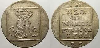 Silbergroschen (srebrnik) 1766  FS Polen S...