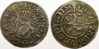 Schilling 1496 Pommern-Stettin Bogislaw X....