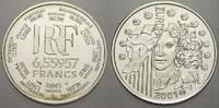 Frankreich 6, 55957 Francs (1 Euro)