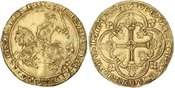 Franc à cheval  Frankreich 1350-1364 Jean ...