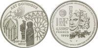 Frankreich, 6,55957 Francs / 1 Euro Gotik,