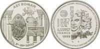 Frankreich, 6,55957 Francs / 1 Euro Romanik,