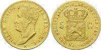5 Gulden 1826 B, Niederlande, Wilhelm I., ...