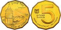 "5 Shekel 1984 Israel ""Kidrontal"" pp. in Etui mit Zertifikat  269.49 £ 345,00 EUR"
