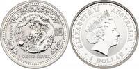 Dollar 2000 Australien Lunar Serie Jahr des Drachen / Year of the drago... 101.55 £ 130,00 EUR