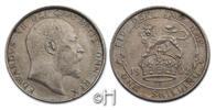 Shilling 1902 Großbritannien Edward VII (1901 - 1910) stgl.  102.52 £ 120,00 EUR  +  8.46 £ shipping