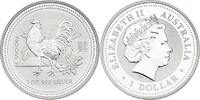 Dollar 2005 Australien Lunar Series Year of the rooster unc.  81.16 £ 95,00 EUR  +  8.46 £ shipping