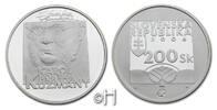 200 Kronen/Korun 2006 Slowakei Karol Kuzmany (1806 - 1866) pp.  45.28 £ 53,00 EUR  +  8.46 £ shipping