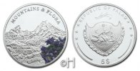Palau 5 Dollar 2009 pp. mit Farbapplikation Serie Mountains & Flora - Wa... 48.50 £