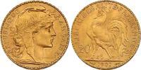 20 Francs 1907 Frankreich III. Republik (1871 - 1940) stgl.  226.28 £ 270,00 EUR  +  8.30 £ shipping