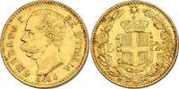 20 Lire 1880 R Italien Umberto I. (1878 - 1900) vz  217.90 £ 260,00 EUR  +  8.30 £ shipping