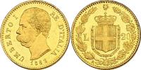 20 Lire 1882 R Italien Umberto I. (1878 - 1900) vz-stgl.  195.29 £ 250,00 EUR