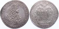 Taler Breslau 1695 MMW RDR Leopold I. (1657 - 1705) f.vz  1550.41 £ 1850,00 EUR free shipping