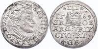 III Groschen 1589 Riga Lettland Sigismund III. (1587 - 1632) vz/f.stgl.  108.95 £ 130,00 EUR  +  8.30 £ shipping