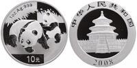 """10 Yuan 2008 China """"Panda"""" unc.  51.26 £ 60,00 EUR  +  8.46 £ shipping"""
