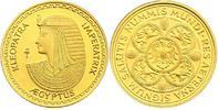 "Au-Medaille o.J. Ägypten ""Kleopatra"" pp  132.79 £ 170,00 EUR"