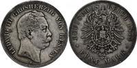 5 Mark 1875 H Deutschland - Hessen 'Ludwig III.' 1848 - 1877 ss, R ... 301.57 £ 380,00 EUR  +  7.86 £ shipping
