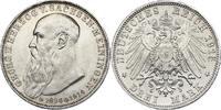 3 Mark 1915 Deutschland - Sachsen - Meiningen 'Georg II.' 1866 - 1914 (... 318.46 £ 380,00 EUR  +  8.30 £ shipping