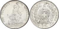 "5 Franken 1872 Schweiz ""Schützentaler Zürich"" vz  142.47 £ 170,00 EUR  +  8.30 £ shipping"