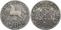 2/3 Taler 1693 JJJ Deutschland - Braunschweig / Lüneburg / Celle Georg ... 55.55 £ 70,00 EUR  +  7.86 £ shipping