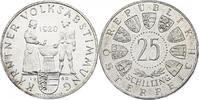 """25 Schilling 1960 Österreich - II. Republik """"Kärntner Volksabstimm... 234.34 £ 300,00 EUR"""