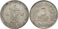 """3 Reichsmark 1925 D Deutschland - Weimar """"Rheinland"""" f.stgl.  75.39 £ 95,00 EUR  +  7.86 £ shipping"""