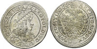 XV Kreuzer 1661 Wien RDR Leopold I. (1657 - 1705) stgl.  196.50 £ 230,00 EUR  +  8.46 £ shipping