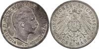 5 Mark 1895 A Deutschland - Preussen Wilhelm II. (1888 - 1918) vz/f.stgl.  152.32 £ 195,00 EUR