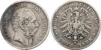 2 Mark 1876 E Deutschland - Sachsen Albert (1873 - 1902) f.ss  58.59 £ 75,00 EUR