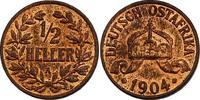 1/2 Heller 1904 A Deutsch - Ostafrika Wilhelm II. (1888 - 1918) f.stgl.  79.62 £ 95,00 EUR  +  8.30 £ shipping