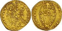 Zecchine o.J. Italien - Venedig Andrea Contanni (1368 - 1382) vz, R  468.68 £ 600,00 EUR