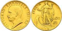 100 Lire 1931 (Jahr IX) Italien Viktor Emanuel III. (1900 - 1946) vz  499.93 £ 640,00 EUR