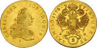 2 Dukaten Karlsburg 1774 E/G-H RDR Joseph II. (1765 - 1780) f.vz  1307.37 £ 1560,00 EUR free shipping
