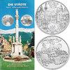 500 Schilling 1996 Österreich - II.Republik 'Die Städte' stgl. mit Begl... 43.65 £ 55,00 EUR  +  7.86 £ shipping