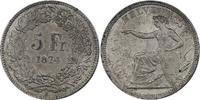 5 Franken 1874 B Schweiz  stgl.  926.95 £ 1085,00 EUR free shipping