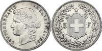 5 Franken 1891 B Schweiz  fvz  243.04 £ 290,00 EUR  +  8.30 £ shipping
