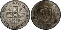 Batzen 1826 Schweiz - Basel Stadt  stgl, spitzes Wappen  88.00 £ 105,00 EUR  +  8.30 £ shipping