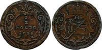 1/2 Soldo (Graz für Görz) 1736 RDR Karl VI. (1711 - 1740) vz, R  174.59 £ 220,00 EUR  +  7.86 £ shipping