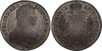 Taler 1761 Wien RDR Maria Theresia (1740 - 1780) f.vz  343.70 £ 440,00 EUR