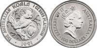 100 Dollar 1991 Australien 'Koala auf Baum' unc. in Hartplastikhülle ... 1089.48 £ 1300,00 EUR free shipping