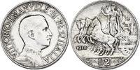 2 Lire 1910 R Italien Viktor Emanuel III. (1900 - 1946) ss+  71.42 £ 90,00 EUR  +  7.86 £ shipping