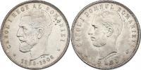 5 Lei 1906 Rumänien Karl I. (1866 - 1914) &quot:  Regierungsjubiläum&qu... 230.67 £ 270,00 EUR  +  8.46 £ shipping