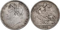 Crown 1822 (Jahr 3) Großbritannien Georg IV. (1820 - 1830) ss/f.ss  91.26 £ 115,00 EUR  +  7.86 £ shipping