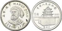 5 Jiao Jiao 1983 China Marco Polo (1254 - 1324) pp., Av. leicht fleckig... 119.61 £ 140,00 EUR  +  8.46 £ shipping