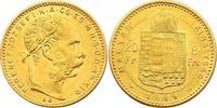 8 Forint 1889 KB Österreich - Ungarn Franz Joseph (1848 - 1916) vz.  217.90 £ 260,00 EUR  +  8.30 £ shipping