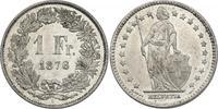 Franken 1876 Schweiz  vz-stgl.  134.91 £ 170,00 EUR  +  7.86 £ shipping