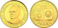 5000 Dinar 1983 Jugoslawien Olympische Spiele Sarajewo pp. im Originale... 293.63 £ 370,00 EUR  +  7.86 £ shipping