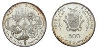 500 Francs 1969 Guinea 'Olympische Spiele München 1972' pp. im Münztäsc... 51.26 £ 60,00 EUR  +  8.46 £ shipping